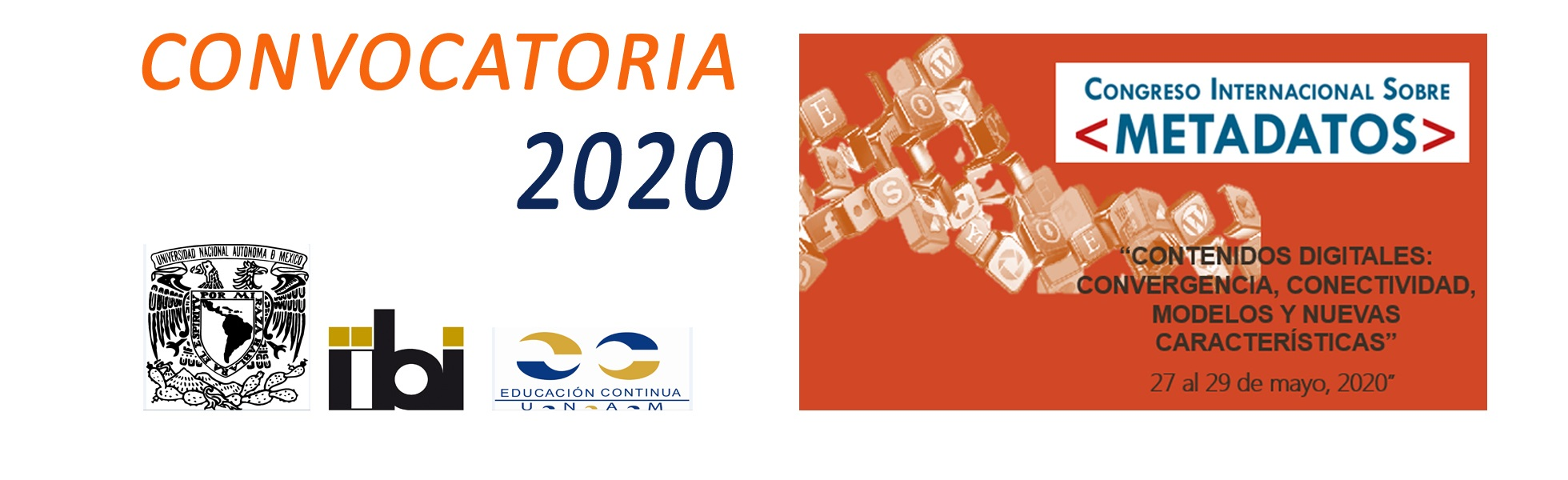 Convocatoria CIM2020