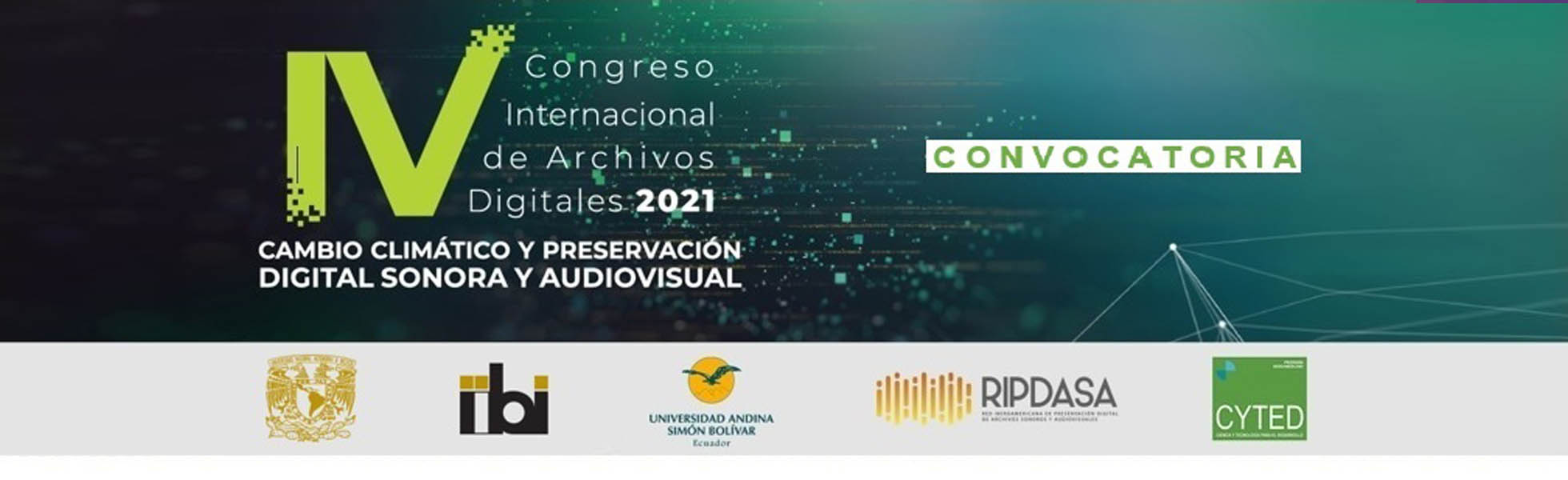 IV Congreso Internacional de Archivos Digitales