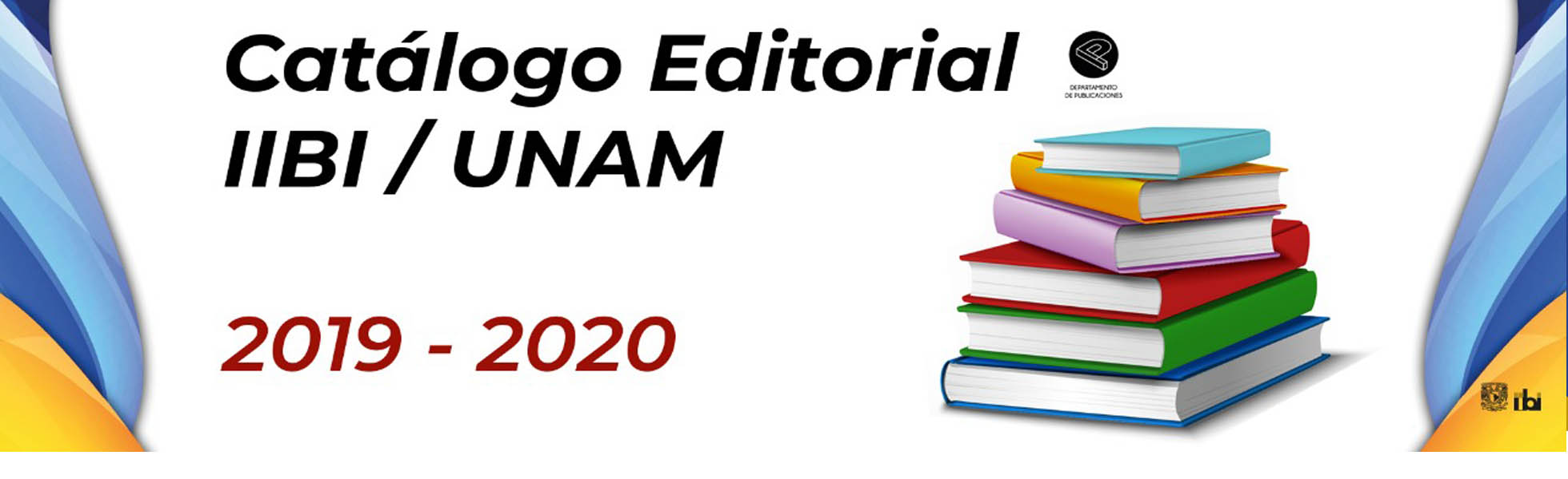 Cátalogo Editorial IIBI UNAM