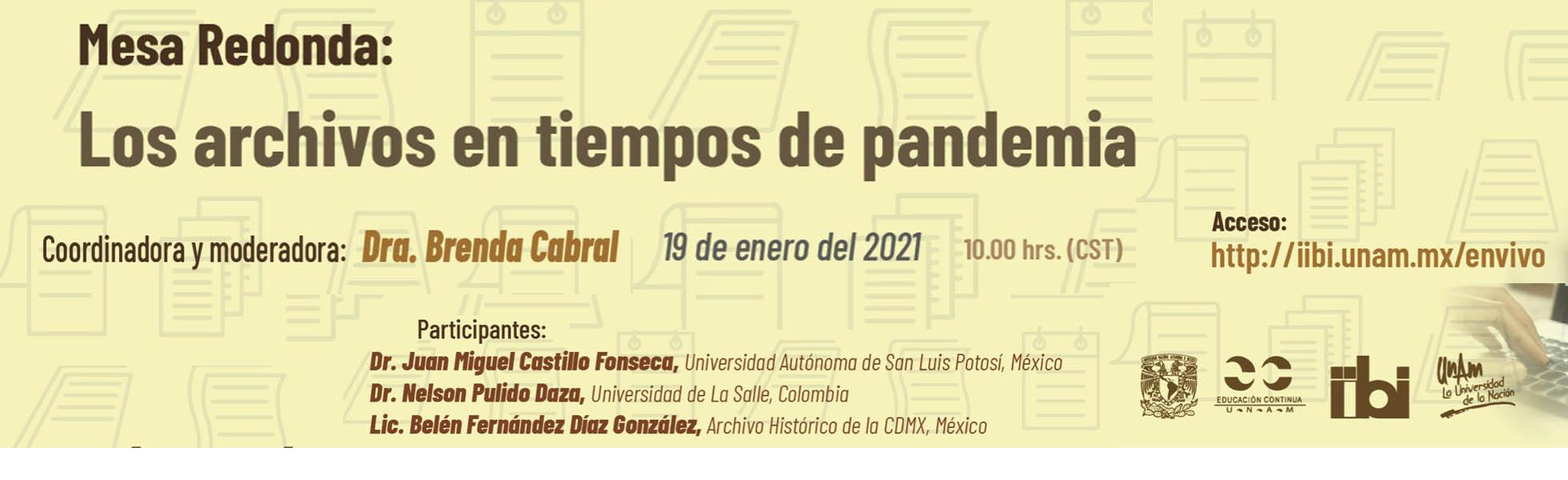 Archivos en tiempos de pandemia