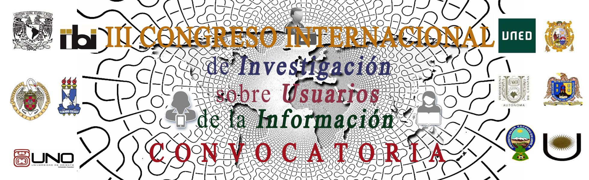 III Congreso Internacional de Investigación sobre Usuarios de la Información