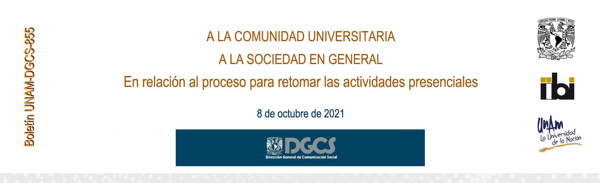 Boletín 855 DGCS